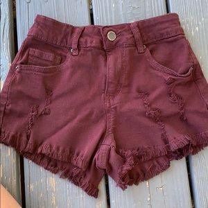 Gently used jegging shorts